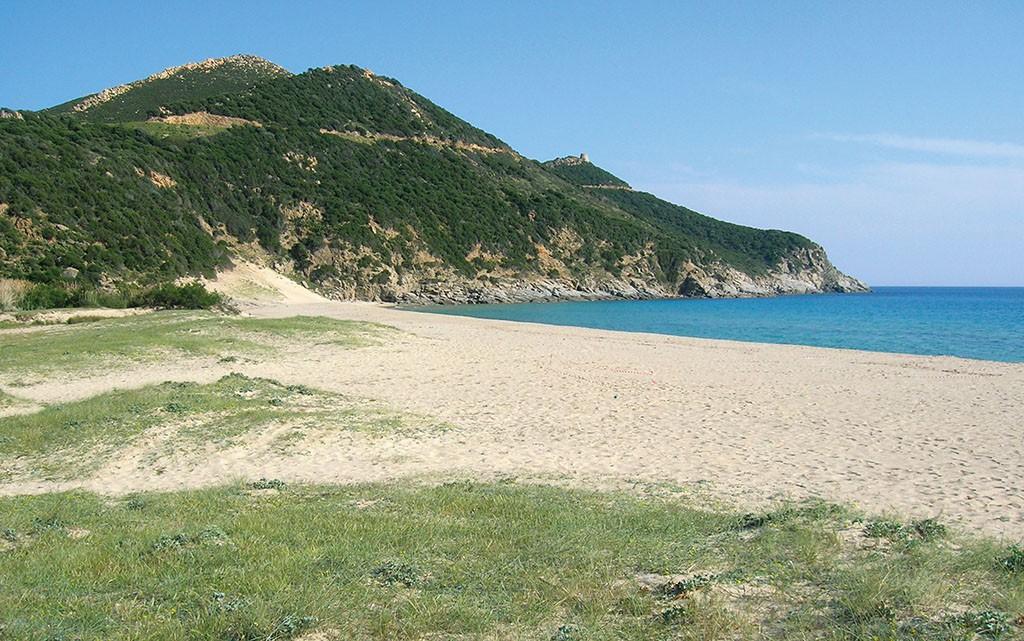 La spiaggia di Solanas